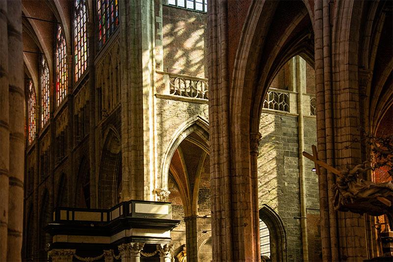 Interieur Sint-Baafskathedraal Gent