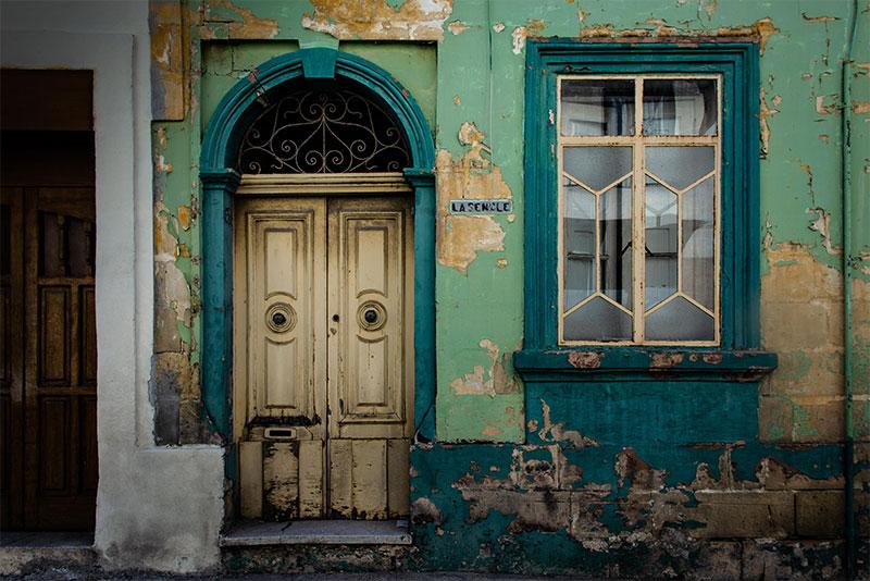 Kleurig huis